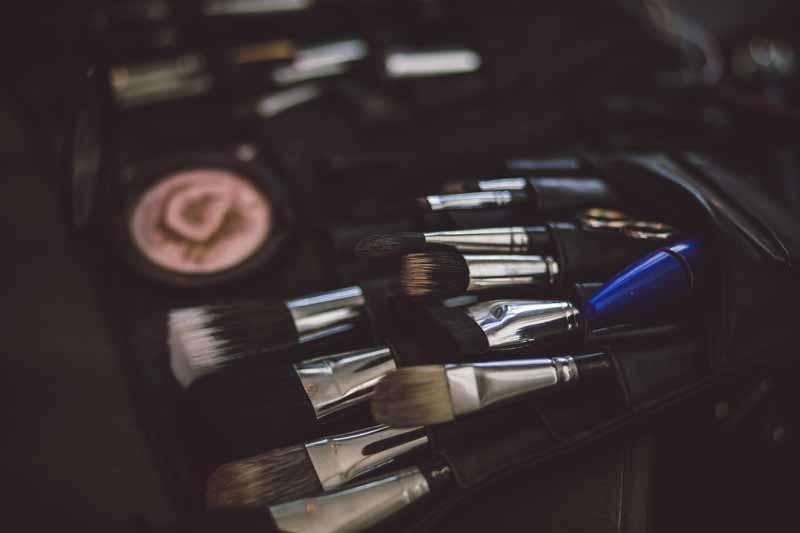 Professional hair and makeup at Boudoir Calgary studios
