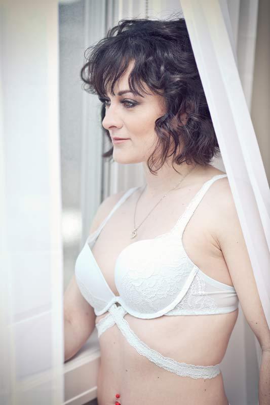 Ms. J rocking her boudoir shoot