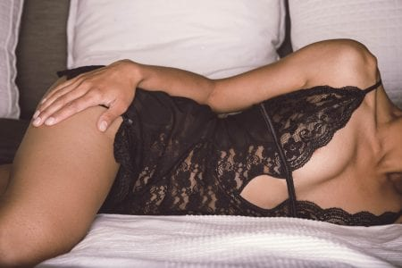 Ms. S's romantic boudoir photography session