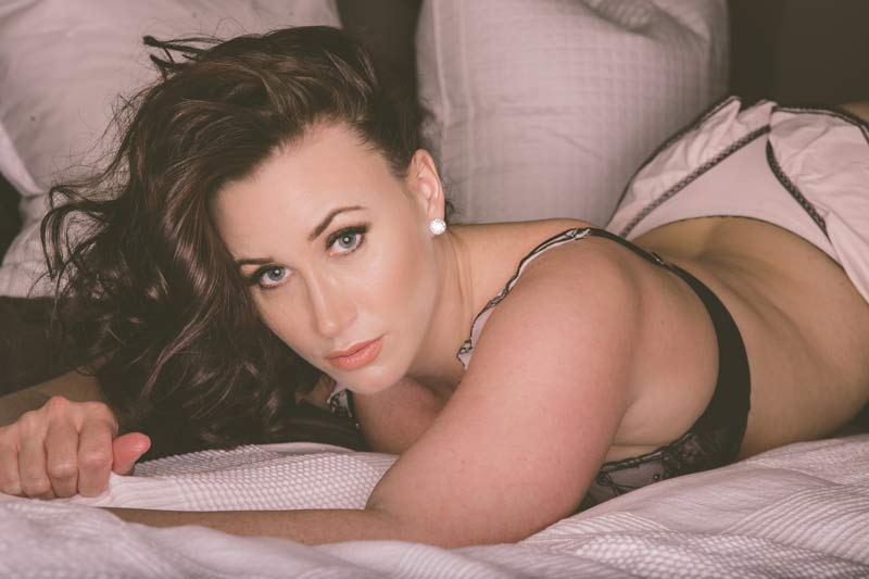 Ms. C is in our Calgary Boudoir Photography Studio!