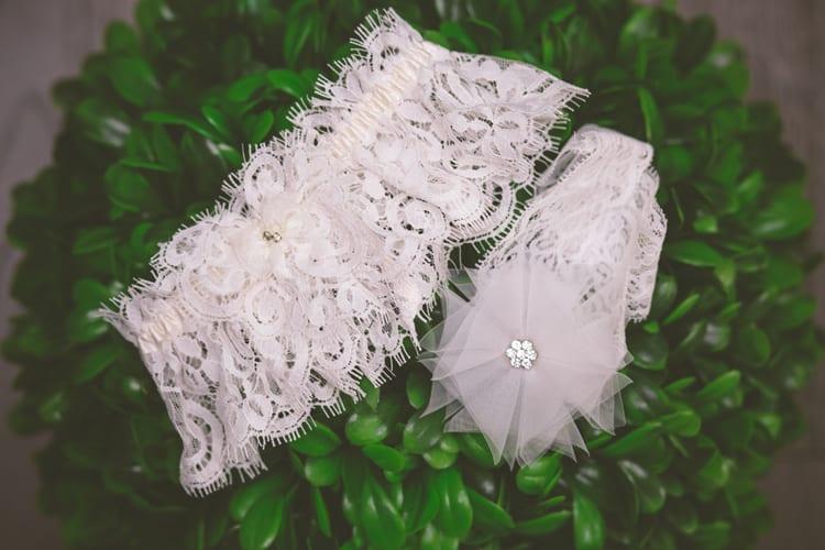 Garters for bridal boudoir