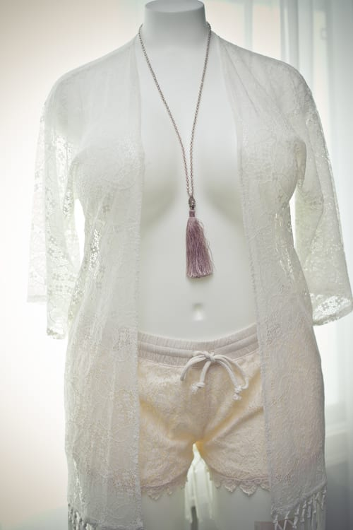 Pj Salvage Lace Shrug