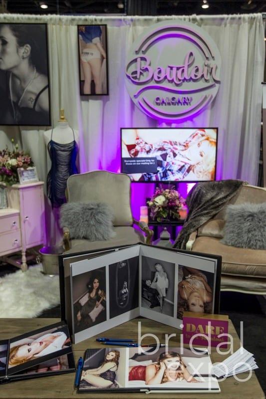 Boudoir Calgary at the Bridal Expo 2016