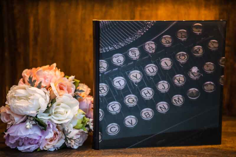 Crystal Cover Large Boudoir Album